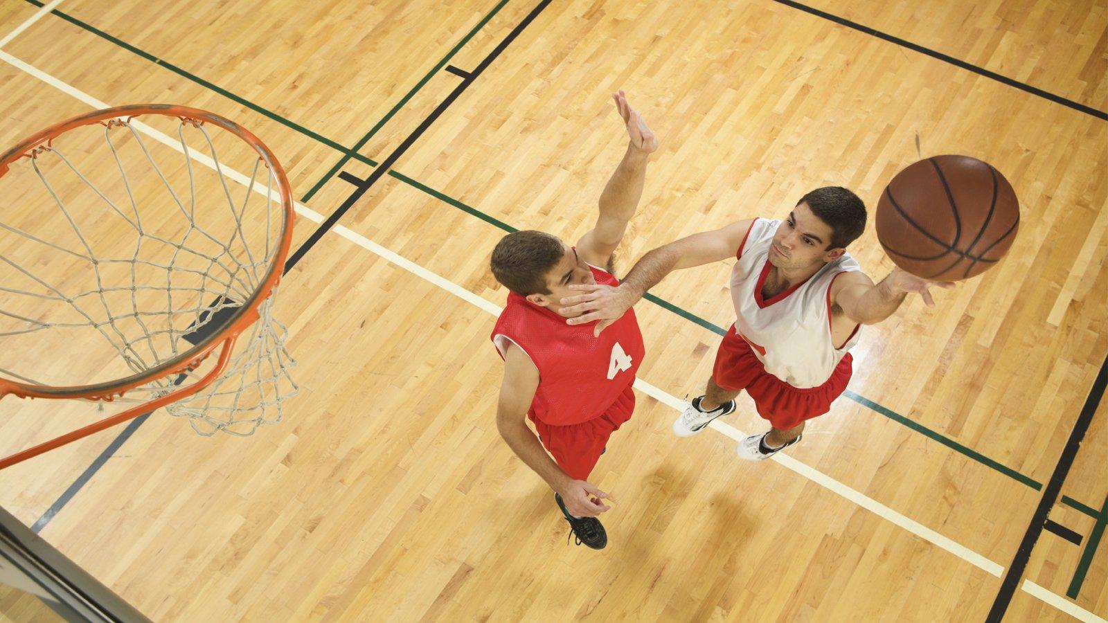 basketball shoot the hoop