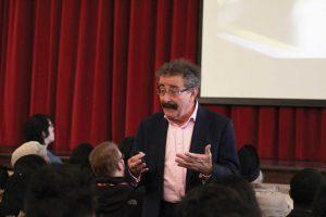 Lord Professor Robert Winston visits FHS
