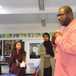 Arts Students Meet Steve McQueen CBE