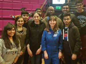 Students Meet NASA Astronaut