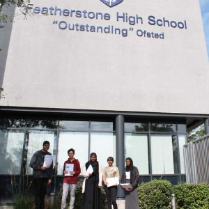 School League Tables Place Featherstone High School Top in the Borough